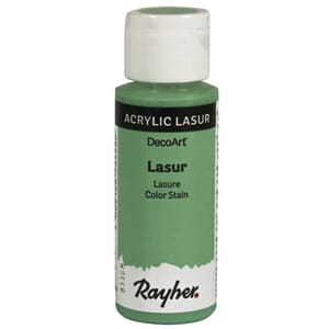 Lasur Transparent akrylmaling - Mint, 59 ml