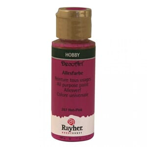 Hobbymaling - Hot-pink, 59 ml
