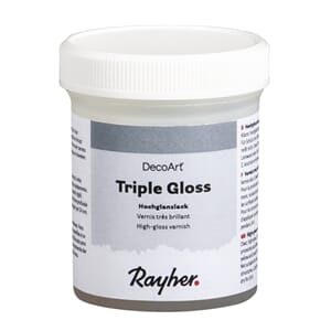 Triple Gloss - Lakk med høyglans, 118 ml