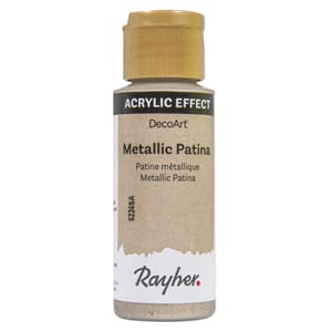 Patina maling - Champagne gold, 59 ml