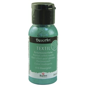 Paint effect - Pearl glimmer, sea aqua, bottle 34 ml