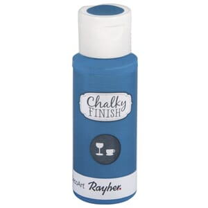 Chalky Finish for Glass - azure