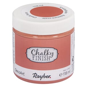 Chalky Finish - salmon