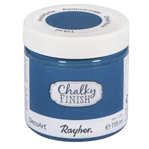 Chalky Finish - coelin blue