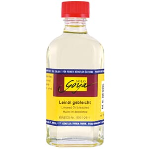 SOLO GOYA Painting Medium Linseed Oil, bleached, 50 ml
