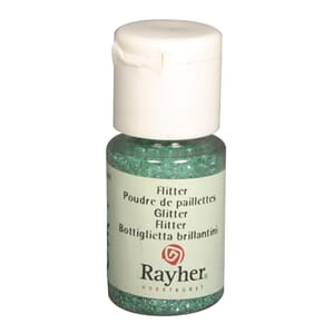 Glitter - Jade, bottle 10 ml