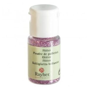 Glitter - Pink, bottle 10 ml