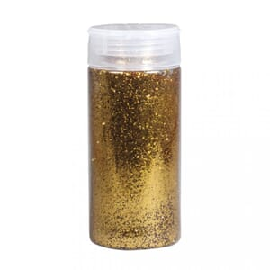 Glitter, Gull, bottle 110 gram