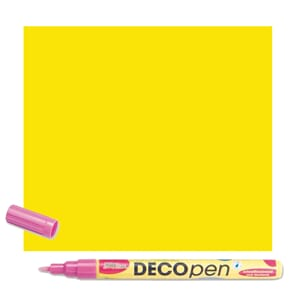 HOBBY LINE Decopen Yellow 1-2 mm