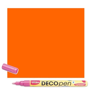 HOBBY LINE Decopen Orange 1-2 mm