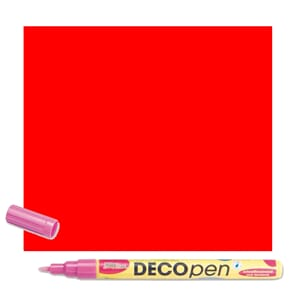 HOBBY LINE Decopen Red 1-2 mm