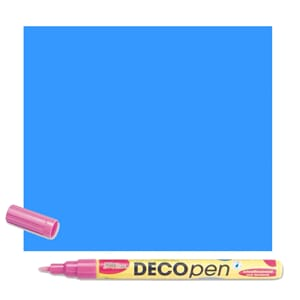 HOBBY LINE Decopen Light Blue 1-2 mm