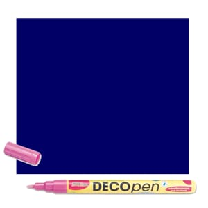 HOBBY LINE Decopen Blue 1-2 mm