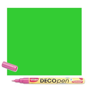 HOBBY LINE Decopen light green 1-2 mm