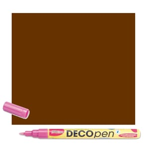 HOBBY LINE Decopen Brown 1-2 mm