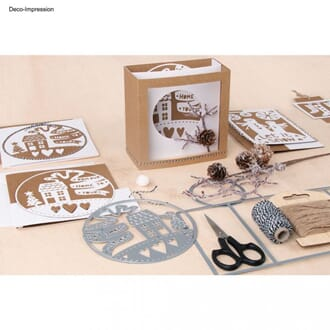 Sizzix: The Ultimate Christmas & Winter pack, 6 dies