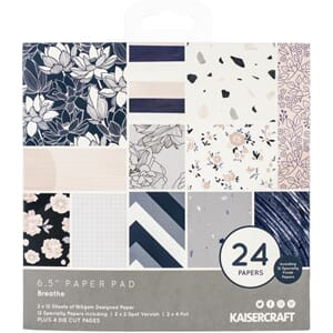 Kaisercraft: Breathe Paper Pad, 40/Pkg