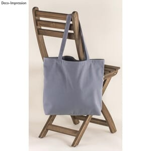 Basic Shopper - Grå,, str 46x35cm, 330g/m²