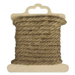 Rayher: Cord of jute, 5mm