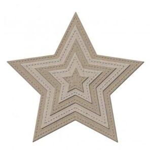 Little B: Stars - Designer Cutting die, 10/Pkg