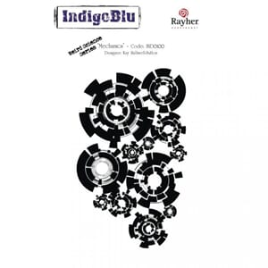 IndigoBlu: Mechanics, str 140x110 mm, 1/Pkg