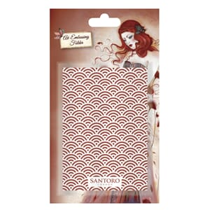 Santoro: Santoro Willow Embossing Folder