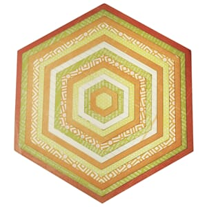 Sizzix: Hexagons Framelits Plus Dies, 15/Pkg