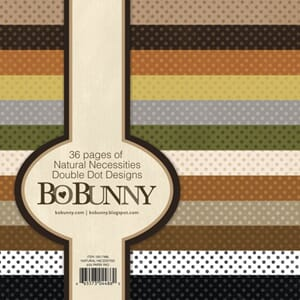 BoBunny: Double Dot Natural Paper Pad, 6x6, 36/Pkg