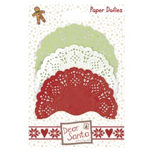 Blondeservietter - Dear Santa, 30/Pkg