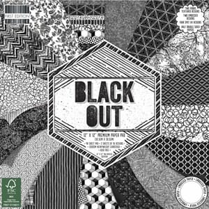 First Editions: Blackout Paper Pad, 12x12, 48/Pkg