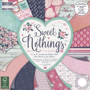 First Edition - Sweet Nothings, 8x8 Paper Pad, 48/Sheet