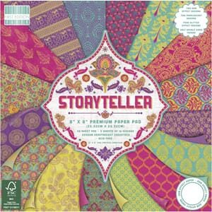 First Edition: Storyteller Paper Pad, 8x8, 48/Pkg