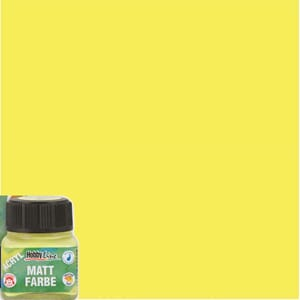 HOBBY LINE Matt - 20ml Lemon Yellow