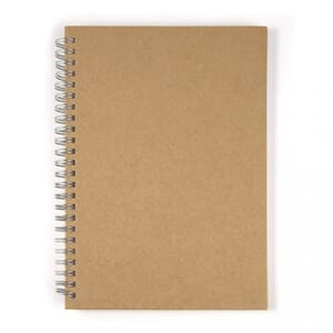 Notebook - kraftfarget perm, str A6, 60 sheet, 70g/m2