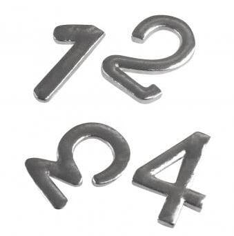 Bokstaver og tall i metall