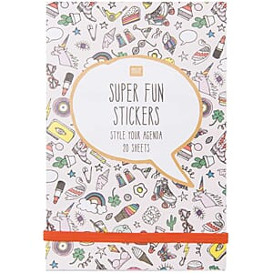 Sticker book - Super fun