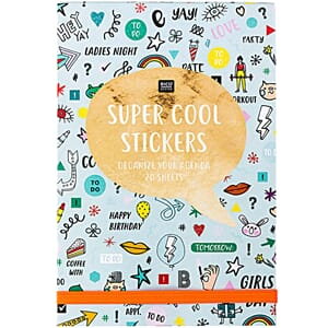 Sticker book - Super cool