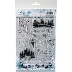 Find It Trading: Winter Classics - Jeanine's Art Clear Stamp