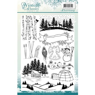 Jeanines Art: Winter Classics Find It Trading Stamps
