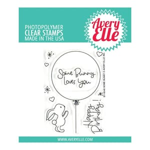 Avery Elle: Some Bunny Clear Stamp Set, 4x3 inch