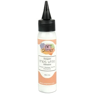 Art Institute Glitter: Designer Dries White Adhesive 2oz