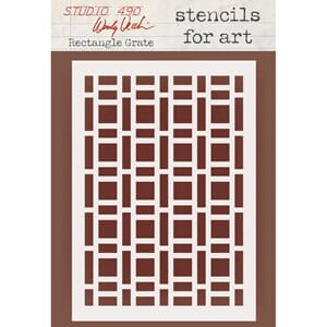Wendy Vecchi: Rectangle Grate Select-A-Stencil