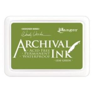 Ranger: Archival Inkpad - Leaf Green