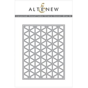 Altenew: Layered Snowflake Stars Cover Die B