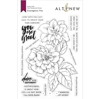 Altenew: Courageous You Stamp Set
