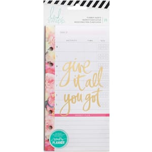 Heidi Swapp: Meal & Exercise Personal Memory Planner Inserts