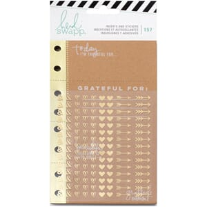 Heidi Swapp: Give Thanks Memory Planner Inserts With Sticker