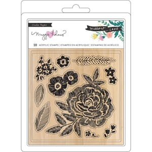 Maggie Holmes: Willow Lane Clear Stamps 10/Pkg