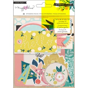 Crate Paper: Willow Lane Ephemera Cardstock Die-Cuts 41/Pkg