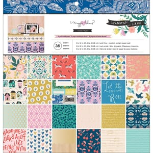 Crate Paper: Maggie Holmes Willow Lane Paper Pad, 12x12, 48/
